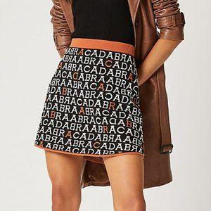 NWT Anthropologie Abracadabra Knit Mini Skirt